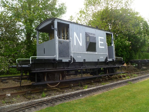 BR  B 952012 Goods Brake Van built 1953