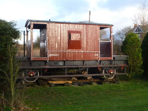 BR  B 953247 Goods Brake Van built 1956
