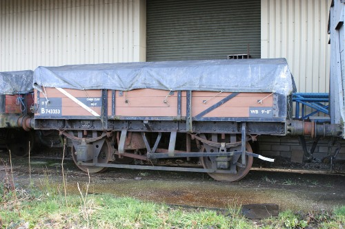BR  B 743353 China Clay Wagon built 1957