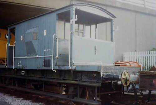 BR  B 952258 Goods Brake Van built 1954