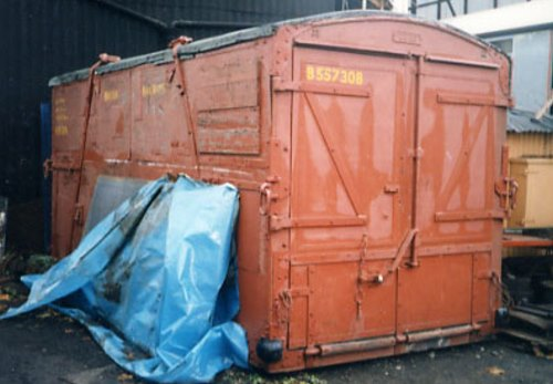 BR  B 55730B General Goods Container built 1956