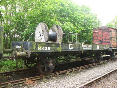 GWR  14428 Signal Post Wagon built 1921