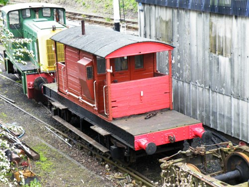 SR  56134 Goods Brake Van built 1931