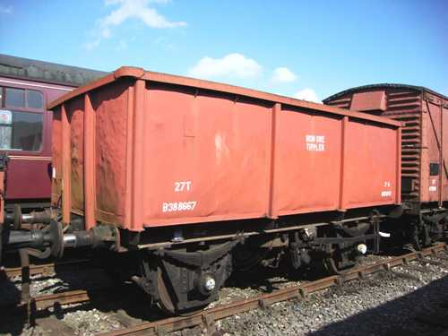 BR  B 388667 Iron Ore Tippler built 1961